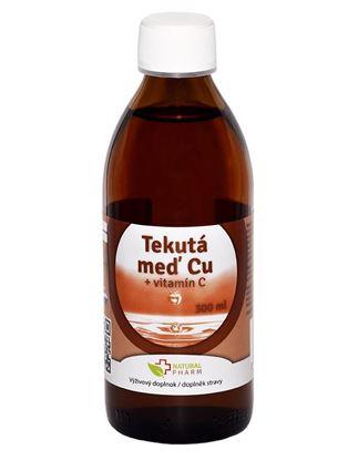Obrázok pre výrobcu Tekutá Meď Cu + Vitamín C 300 ml