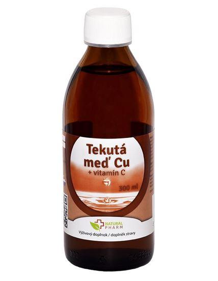 Obrázok Tekutá Meď Cu + Vitamín C 300 ml