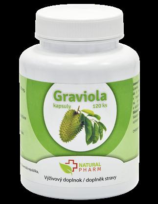 Obrázok pre výrobcu Graviola (Annona Muricata) kapsuly 120 ks