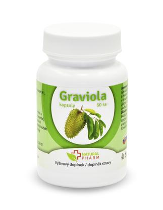 Obrázok pre výrobcu Graviola (Annona Muricata) kapsuly 60 ks