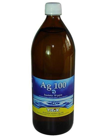 Obrázok Koloidné striebro Ag100 1000 ml 10 ppm
