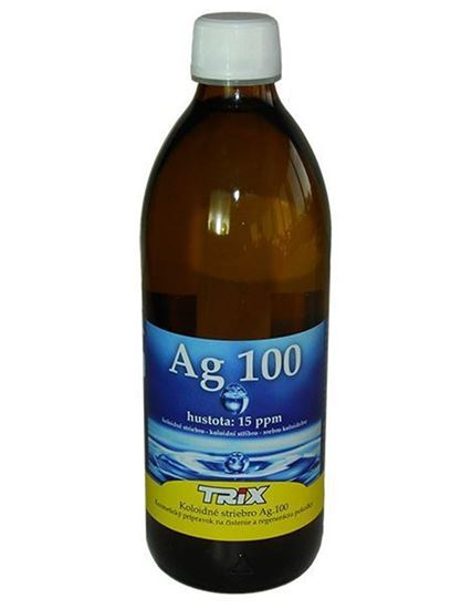 Obrázok Koloidné striebro Ag100 500 ml 15 ppm