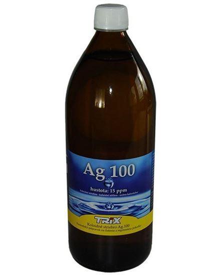 Obrázok Koloidné striebro Ag100 1000 ml 15 ppm