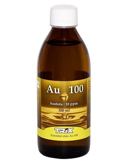 Obrázok Koloidné zlato Au100 300 ml 10 ppm