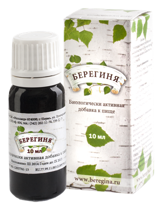 Obrázok pre výrobcu Beregina kvapky 10 ml