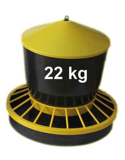 Obrázok Kŕmidlo, zásobník na krmivo 22 kg
