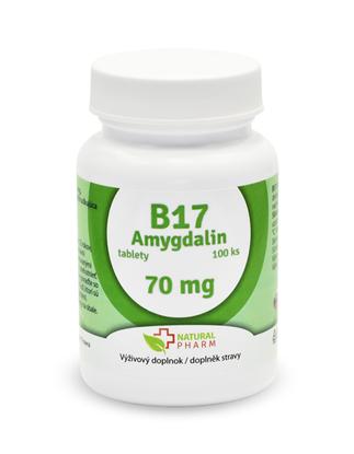 Obrázok pre výrobcu Amygdalin B17 70 mg tablety 100 ks, AKCIA!