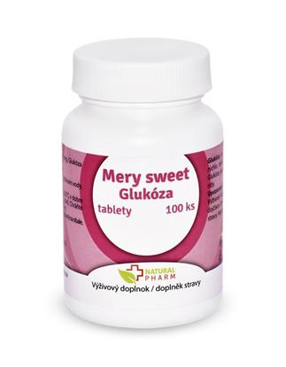 Obrázok pre výrobcu Mery sweet Glukóza tablety 100 ks AKCIA!