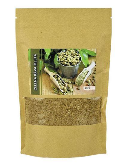 Obrázok Zelená káva mletá 250 g