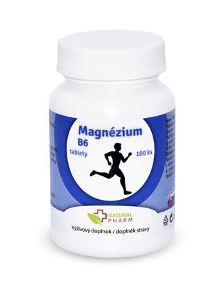 Obrázok pre výrobcu Magnézium + B6 tablety 100 ks AKCIA! Expirácia 07/2018