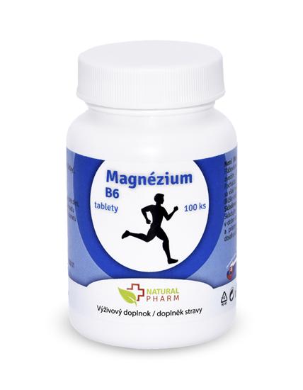 Obrázok Magnézium + B6 tablety 100 ks AKCIA! Expirácia 07/2018
