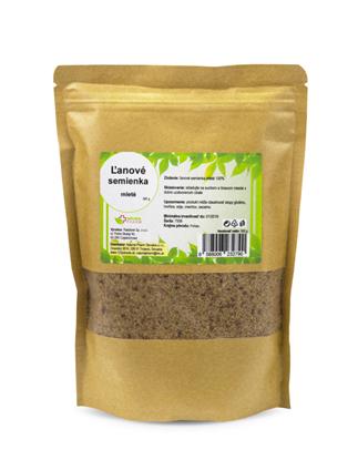Obrázok pre výrobcu Ľanové semienka mleté 500 g