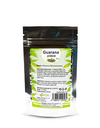 Obrázok pre výrobcu Guarana prášok 50 g