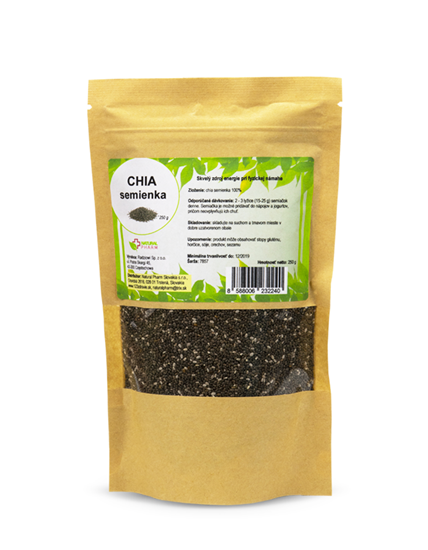 Obrázok Chia semienka 250 g