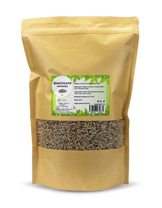 Obrázok pre výrobcu Slnečnicové semienka 1000 g