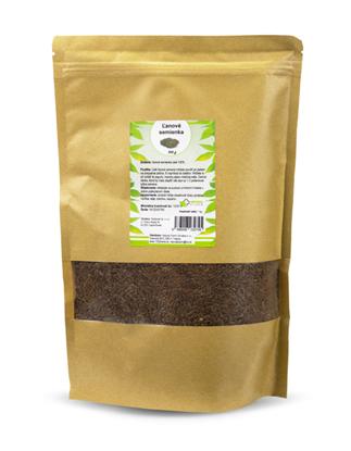 Obrázok pre výrobcu Ľanové semienka celé 500 g