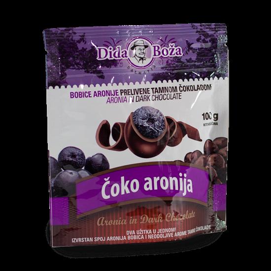 Obrázok Kandizovaná arónia v čokoláde 100 g