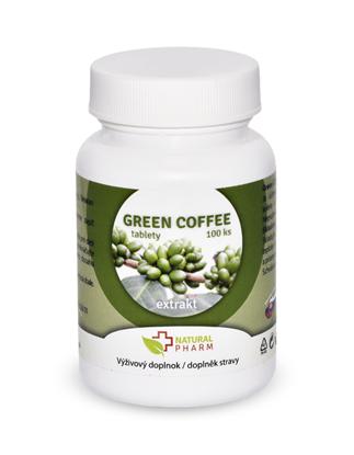 Obrázok pre výrobcu Green Coffee /Zelená káva/ tablety 100 ks