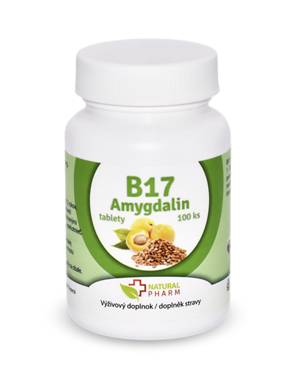 Obrázok Amygdalin B17 35 mg tablety 100 ks