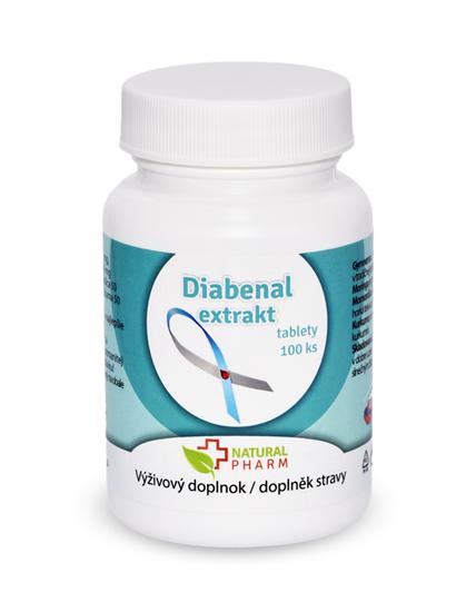 Obrázok Diabenal tablety 100 ks AKCIA!