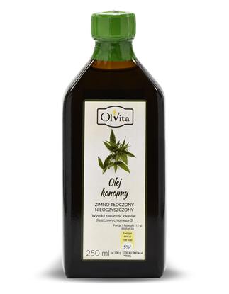 Obrázok pre výrobcu Konopný olej 250 ml