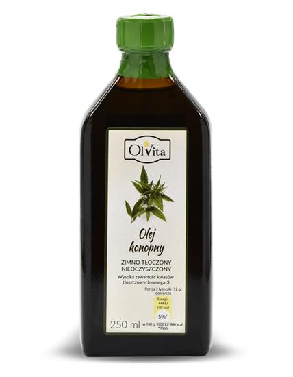 Obrázok Konopný olej 250 ml