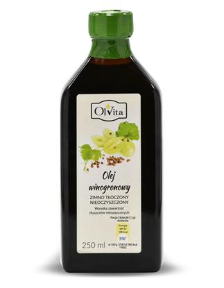 Obrázok pre výrobcu Olej z hroznových jadier 250 ml Na Objednávku!