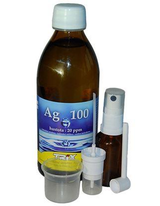 Obrázok pre výrobcu Koloidné striebro Ag100 300 ml 20 ppm set