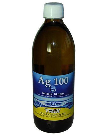 Obrázok Koloidné striebro Ag100 500 ml 10 ppm