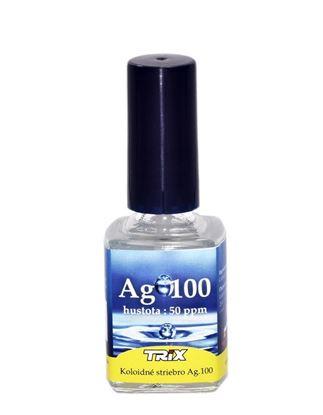 Obrázok pre výrobcu Koloidné striebro Ag100 10 ml 50 ppm štetec  NEDOSTUPNÉ!!