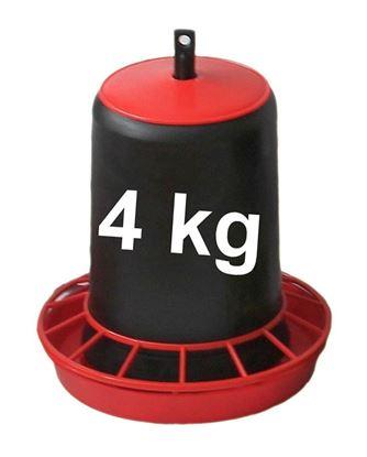 Obrázok pre výrobcu Kŕmidlo, zásobník na krmivo 4 kg