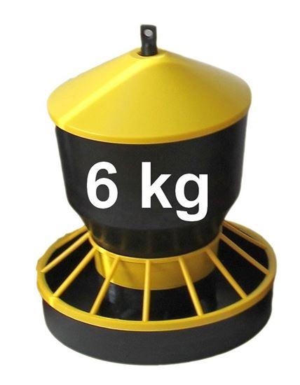 Obrázok Kŕmidlo, zásobník na krmivo 6 kg