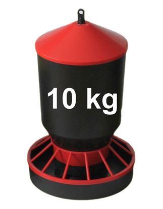 Obrázok pre výrobcu Kŕmidlo, zásobník na krmivo 10 kg