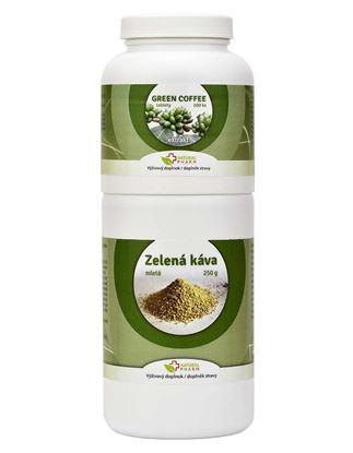 Obrázok pre výrobcu Green Coffee /Zelená káva/ tablety 100 ks + Zelená káva mletá 250 g