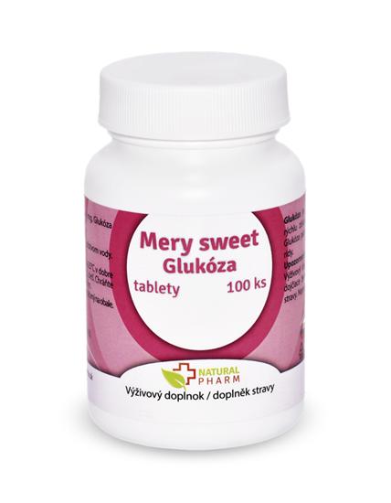 Obrázok Mery sweet Glukóza tablety 100 ks AKCIA!