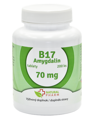 Obrázok pre výrobcu Amygdalin B17 70 mg tablety 200 ks