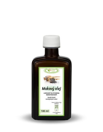 Obrázok Bio Makový olej 100 ml AKCIA!