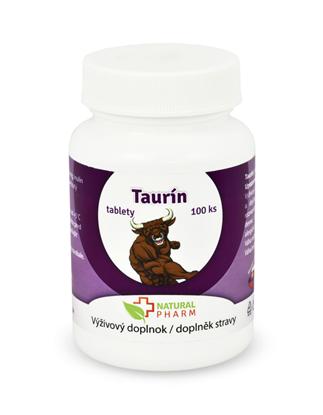 Obrázok pre výrobcu Taurín tablety 100 ks