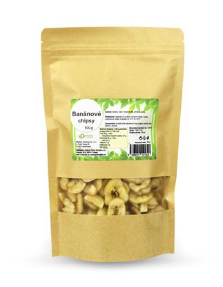 Obrázok pre výrobcu Banánové chipsy 500 g