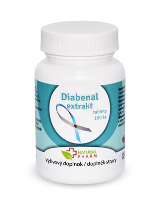 Obrázok pre výrobcu Diabenal tablety 100 ks AKCIA! Expirácia 10/2018