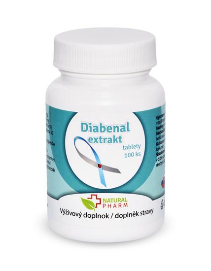 Obrázok Diabenal tablety 100 ks AKCIA! Expirácia 10/2018