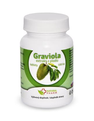Obrázok pre výrobcu Graviola (Annona Muricata) tablety 100 ks AKCIA! Exiprácia 09/2018