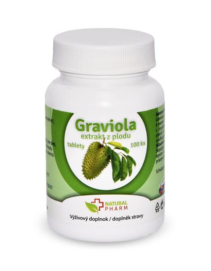 Obrázok Graviola (Annona Muricata) tablety 100 ks AKCIA! Exiprácia 09/2018