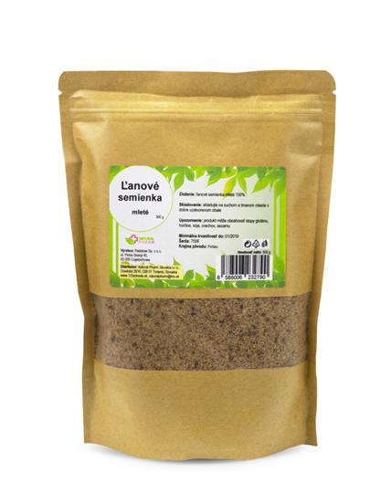 Obrázok Ľanové semienka mleté 500 g