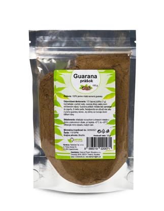 Obrázok pre výrobcu Guarana prášok 100 g