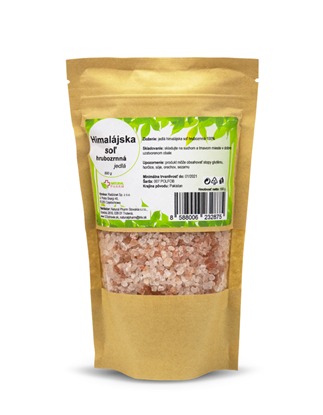 Obrázok pre výrobcu Himalájska soľ hrubozrnná 500 g