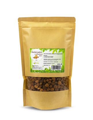 Obrázok pre výrobcu Horké marhuľové jadierka s obsahom B17 (Amygdalín/Laetrile) 500 g