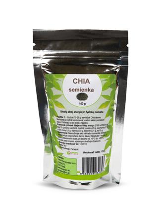 Obrázok pre výrobcu Chia semienka 100 g  Expirácia 07/2021