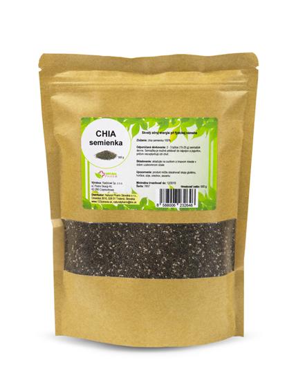 Obrázok Chia semienka 500 g