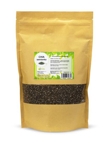 Obrázok Chia semienka 1000 g
